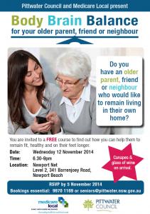 Older parents information workshop